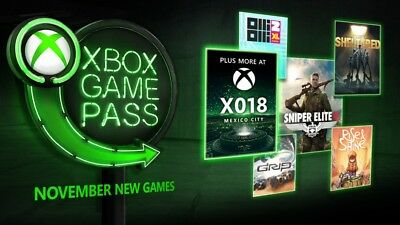 XBOX 14 Day GAME PASS SUBSCRIPTION TRIAL (INSTANT DELIVERY!) Xbox One X