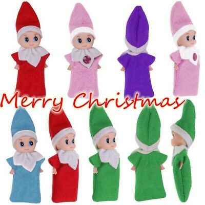 Christmas Elf on the Shelf Baby Santa Plush Toy Plush Doll Boy Girl Figure Decor