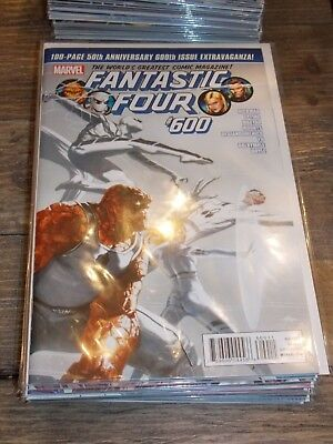 Hickman Fantastic Four Complete Run Lot 600 - 611