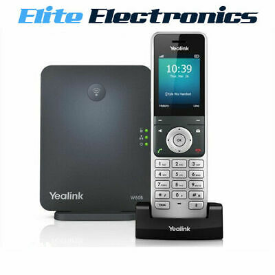 Yealink W60P Wireless Dect Ip Phone + W60B Base Station & Handset