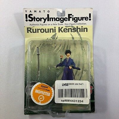 !story Image Figure! Rurouni Kenshin Mini-Figure Collection Damaged Package   CS