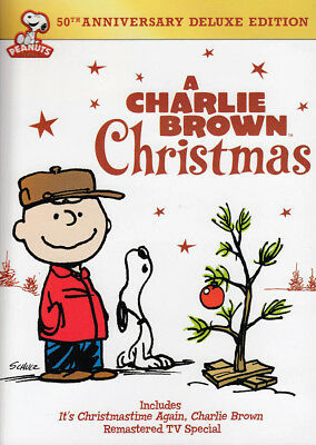 Charlie Brown Christmas (50th Anniversary Delu New DVD