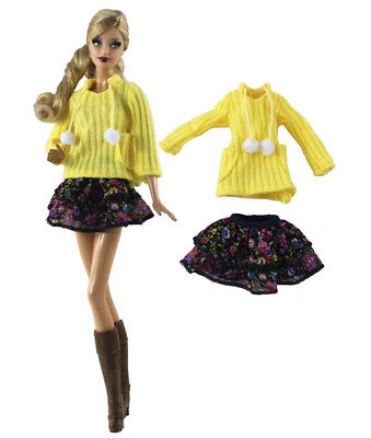 1 Set Fashion Handmade Doll Clothes Outfit for Barbie Doll X11