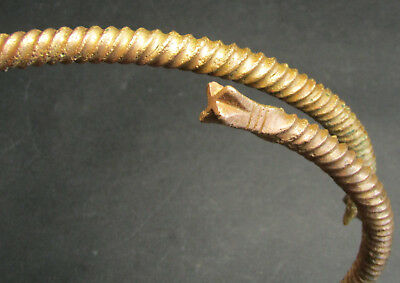 Ancient Viking Neck Torc Snake.Cleared. Super!