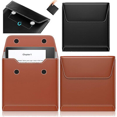 """MoKo Slim Leather Protective Cover Bag Pouch for Amazon 7"""" Kindle Oasis E-reader"""