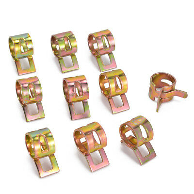 60 x Fuel Line Hose Spring Clip Water Pipe Air Tube Clamps 6/9/10/12/14/15mm