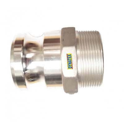 "Camlock 1"" BSP Male Thread Male Water Pump Connector Hose Coupling Type F"