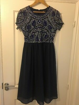 Beautiful Maternity Evening Dress Asos Size 10