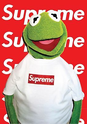 Kermit SUPREME Poster -A5, A4 A3 A2 Available