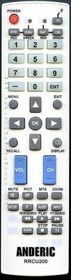 Replacement for APEX UK2AC1 (p/n: 8201801820L) 5-Device Universal Remote Cont...