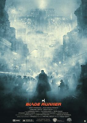 Blade Runner Harrison Ford Movie Poster -A5, A4 A3 A2 Available