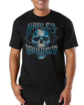 Harley-Davidson Fanatics Chrome Tribal T-Shirt Gr. 4XL - Schwarz