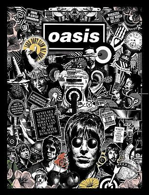 Oasis  Poster -A5, A4 A3 A2 A1  Available