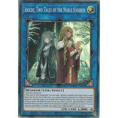 Yu-Gi-Oh Isolde, Two Tales of the Noble Knights SOFU-ENSE1 Super Rare Limited Ed