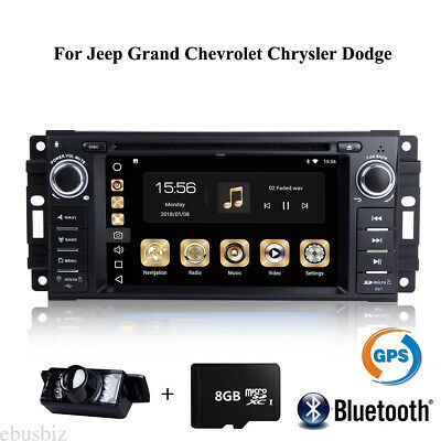 DVD Stereo PLAYER DVR DAB+ Touch FOR JEEP Chevrolet Chrysler GPS Radio BLUETOOTH