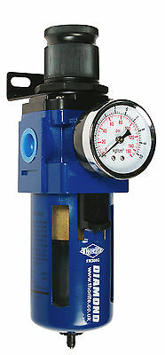 "Thorite 1/2"" BSP Compressed Air / Pneumatic Filter Regulator with Gauge FR308G"