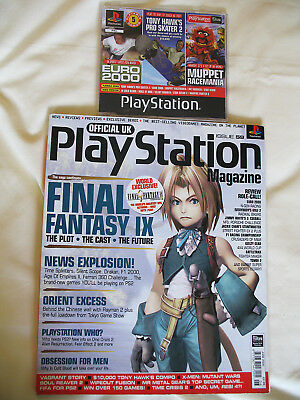 Official UK Playstation Magazine Issue 59 June 2000 with Demo Disc Final Fantasy