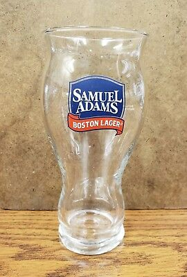 """Samuel Adams Boston Lager Sensory Pint Beer Ale Glass For The Love Of Beer 6.5"""""""