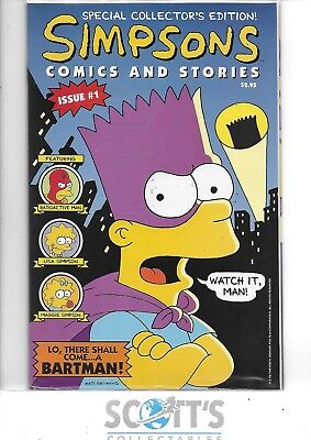 Simpsons Special Collectors Edition  #1  NM  (Bongo)  Sealed