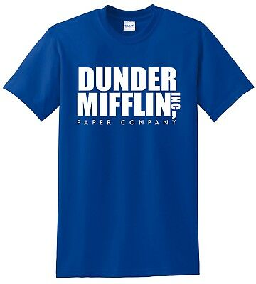Dunder Mifflin Paper Co Inc Scranton PA The Office Dwight Jim - Mens T-shirt