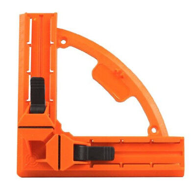 90 Degree Right Angle Clamp 95mm Reinforced Fixed Picture Frame Clip DIY Gl H7X3