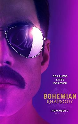 Bohemian Rhapsody Movie Poster  A5..a4..a3..a2.. Options