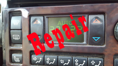 Range Rover P38 HEVAC Display Zebra Connector Fix Repair Ribbon Connector