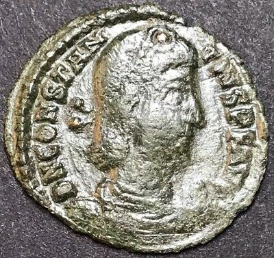 Constantius II AE3. Ancient Roman Imperial Coin. Thessalonica Mint.