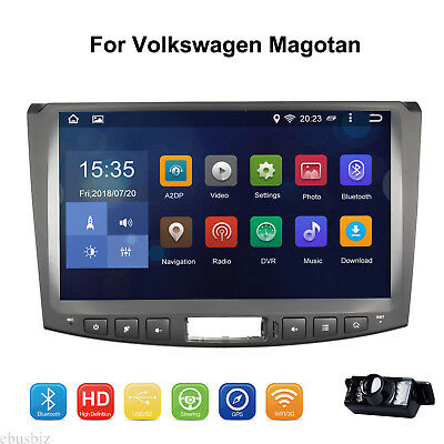 """10.1"""" Android 7.1 Radio Player GPS BLUETOOTH Touch Stereo For VW Magotan+Camera"""