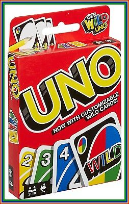 Uno Game Card Family Playing Fun Cards Games