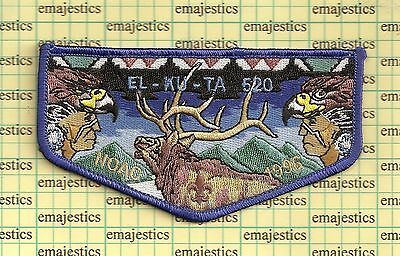Bsa Oa Lodge 520 El Ku Ta Utah 100Th Centennial 1996 Noac S26 Flap