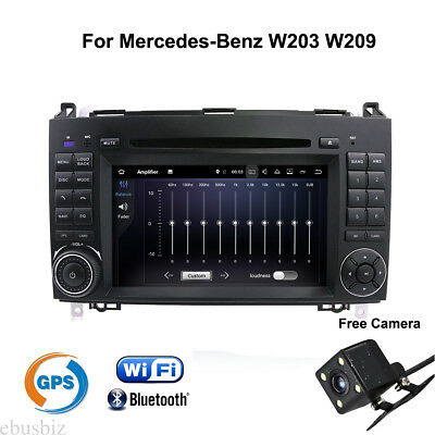 For Mercedes Benz W203 W209 Android7.1 Car Stereo DVD Player Radio GPS Bluetooth