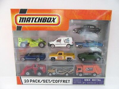 Matchbox Superfast 2008 10 Pack inc. Green VW Thing/ White VW Caddy - Mint/Boxed