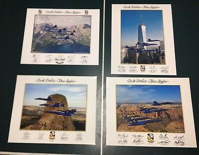 US NAVY BLUE ANGELS 16 x 20 large LITHO Authentic posters Combo Pack