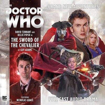 DOCTOR WHO Big Finish THE TENTH DOCTOR ADVENTURES: THE SWORD OF THE CHEVALIER CD
