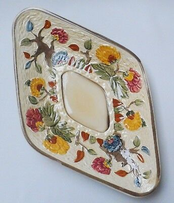H J Wood Indian Tree Dish - Made in England