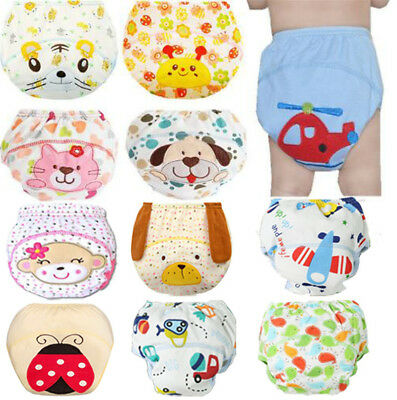 Baby Cloth Reusable Cute Washable Nappy Cover Diaper Pocket Wrap Diapers Bamboo