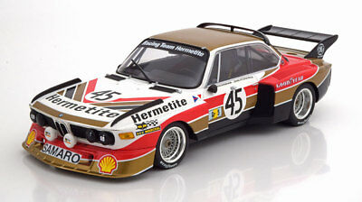 1:18 BMW 3.5 CSL No.45, 24H Le Mans 1976 - Minichamps  - LE 400 Pcs