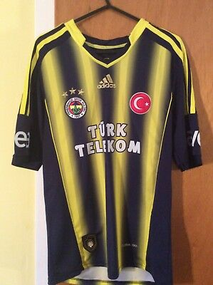 Fenerbache Football Club Shirt XS Child's Adidas Turkey Replica Top