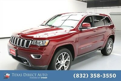 2018 Jeep Grand Cherokee Sterling Edition Texas Direct Auto 2018 Sterling Edition Used 3.6L V6 24V Automatic 4WD SUV