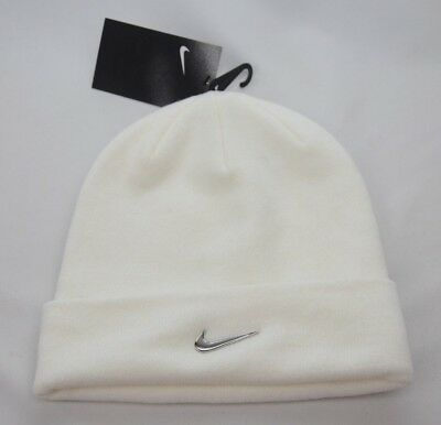 100% authentic ae151 b2f9d Nike Beanie Metal Swoosh Youth One Size Fits Most New with Tags 825577 100