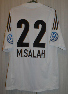 Basel Switzerland Football Shirt 2012/2013 #22 Salah Liverpool Roma Egypt