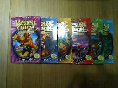 Beast Quest Series 2 Books 7-12
