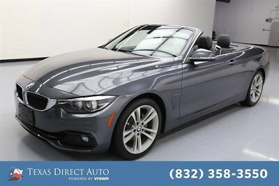 2018 BMW 4-Series 430i Texas Direct Auto 2018 430i Used Turbo 2L I4 16V Automatic RWD Convertible