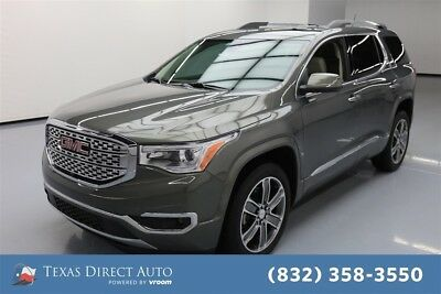 2017 GMC Acadia Denali Texas Direct Auto 2017 Denali Used 3.6L V6 24V Automatic FWD SUV Moonroof Bose