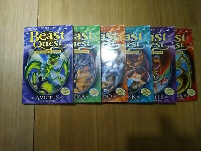 Beast Quest Series 5 Books 25-30