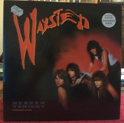 Waysted-Heaven Tonight/Limited Edition Coloured Vinyl Maxi