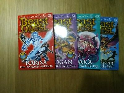 Beast Quest Series 18  Books 95-98