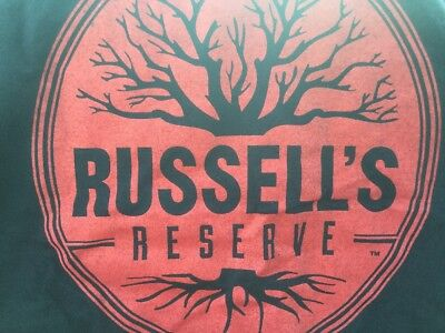 Russell's Reserve Bourbon Whiskey Tee Shirt Size M NEW