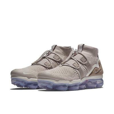 New $225 Nike Air Vapormax Flyknit Utility Moon Particle Ah6834-205 Sz 10 Nsw